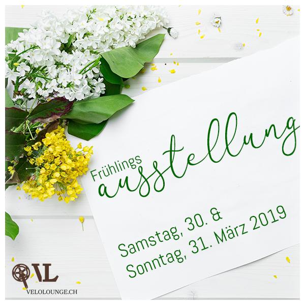 Frühlingsausstellung Velolounge